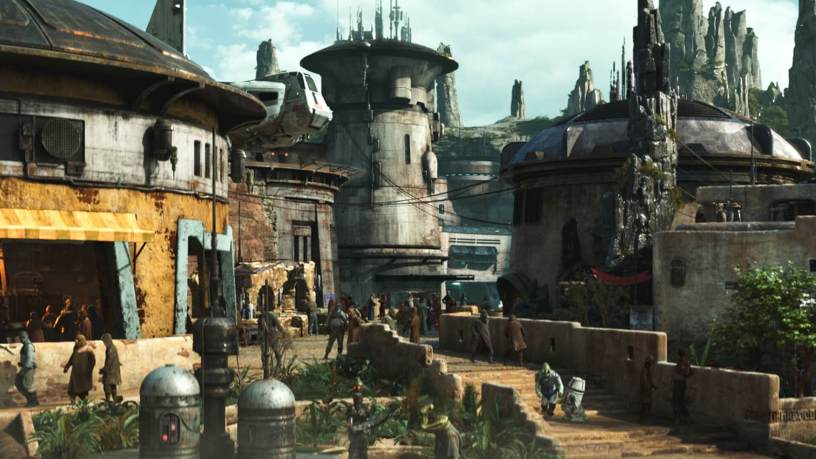 Black Spire Outpost at Galaxy's Edge