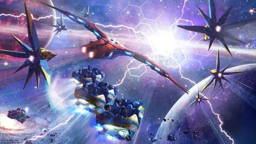 Guardians of the Galaxy: Cosmic Rewind artwork