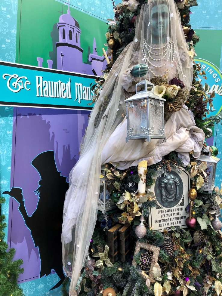 Disney World's Haunted Mansion Christmas Tree
