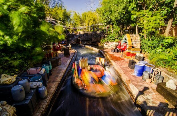 Disney's animal kingdom river rapids ride
