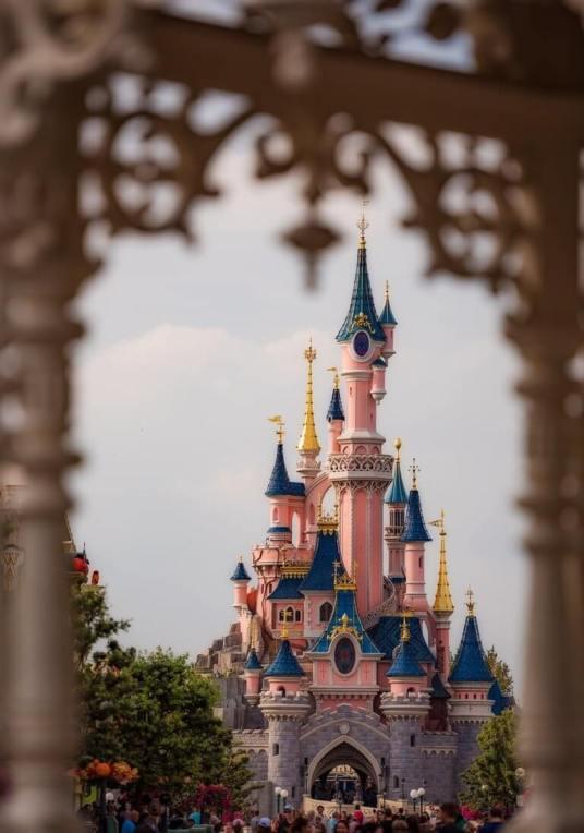 Le Château de la Belle au Bois Dormant or The Castle of the Sleeping Beauty in the Woods at Disneyland Paris