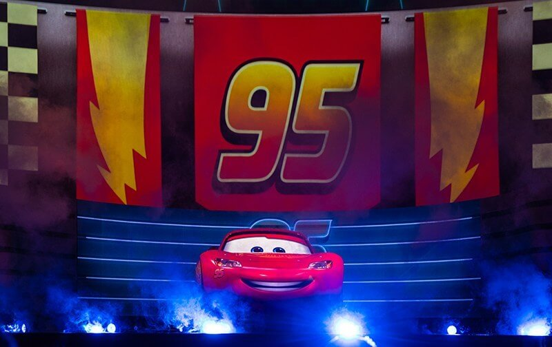 Lightning Mcqueen's Racing Academy attraction