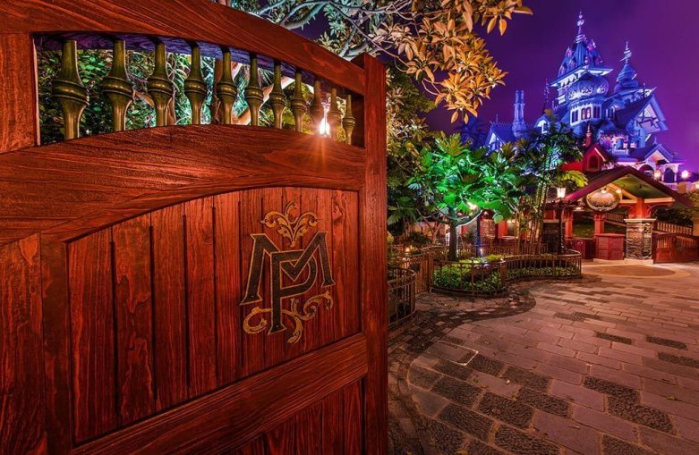 The Haunted Mansion at Hong Kong Disneyland
