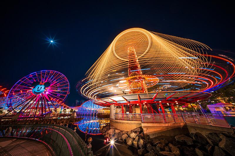 Ferris wheel at Disneyland California Adventure