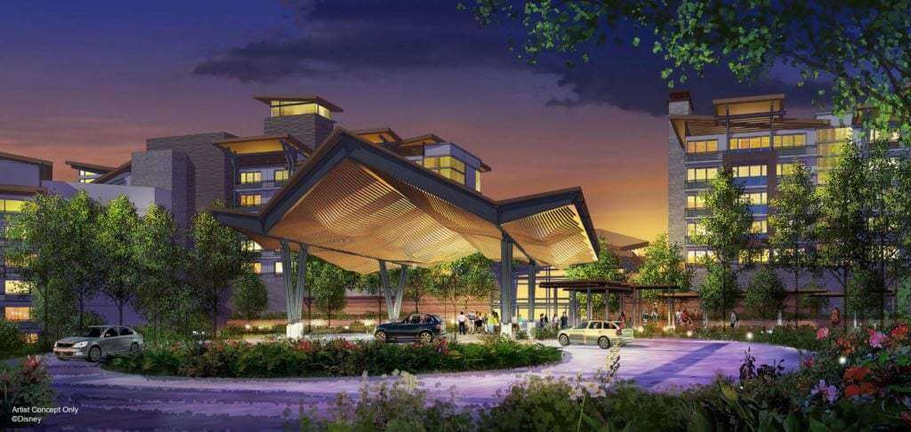 Stunning concept art of Reflections – A Disney Lakeside Lodge that will join the DVC lineup in 2022