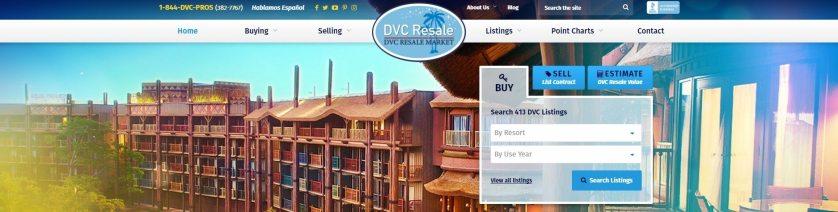 DVC Resale Market search box