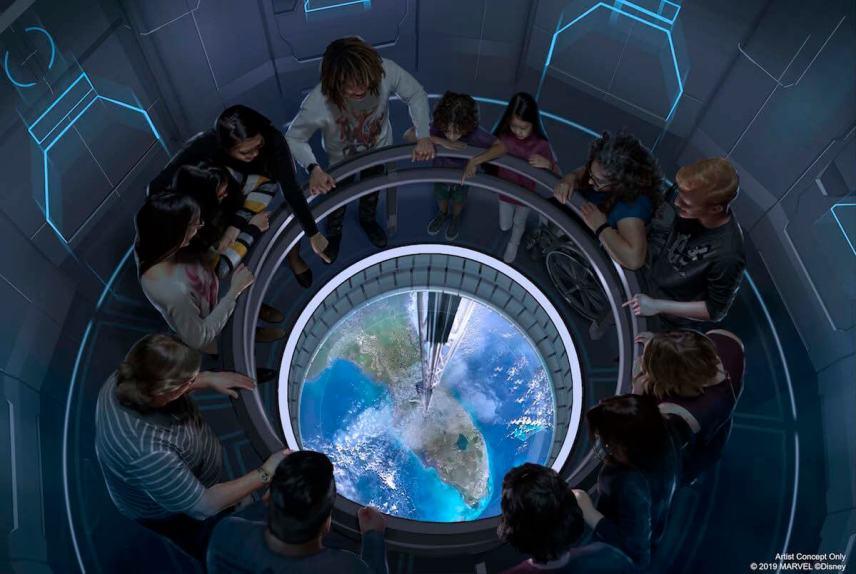 Plans for Disney restaurant Space 220