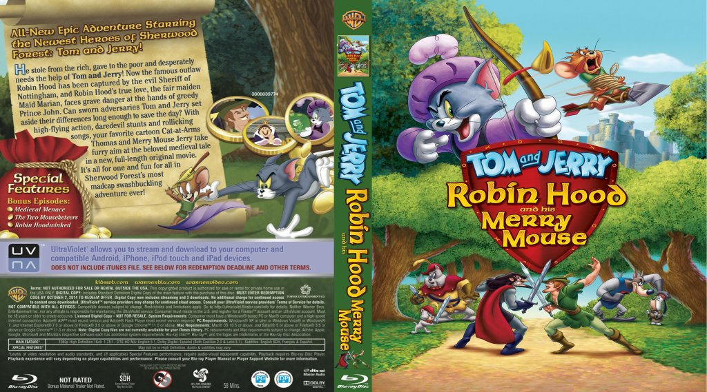 Hood Merry Jerry Tom 2012 Robin Mouse His