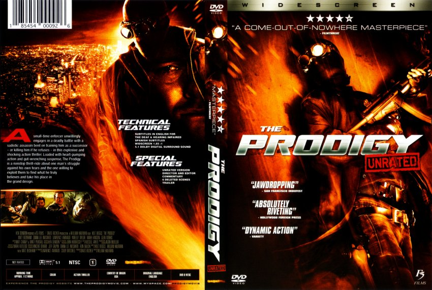 The Prodigy Movie DVD Scanned Covers 10577The Prodigy DVD Covers