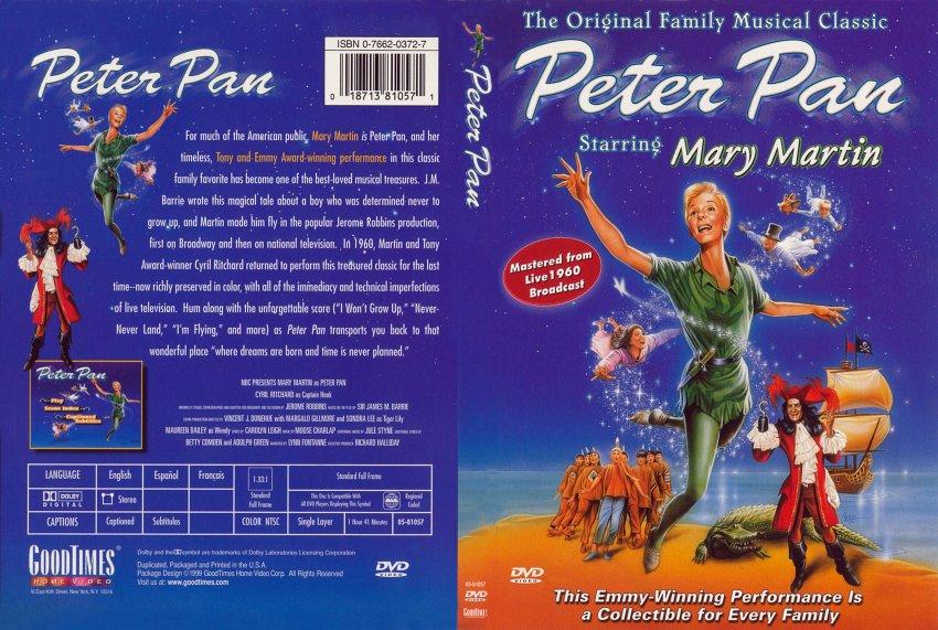 Peter Pan 1960 Mary Martin