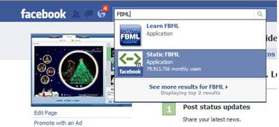 add fbml application plugin