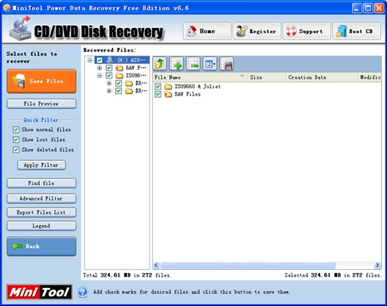 Video Recovery from DVD2