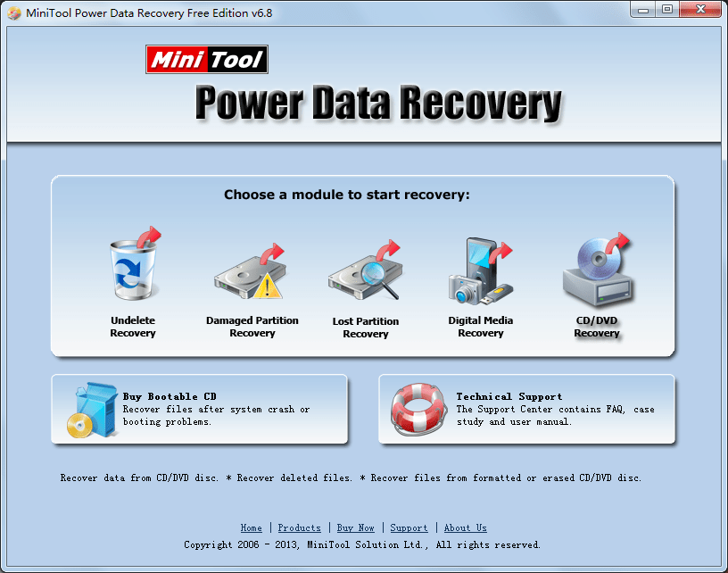 Recover data DVD