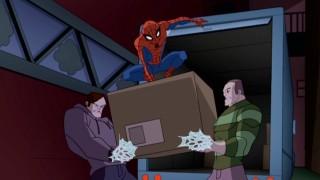 Mais uma vez, o Homem-Aranha frustra um assalto por Alex O'Hirn e Flint Marko, as capas comuns que se tornarão Rhino e Sandman.