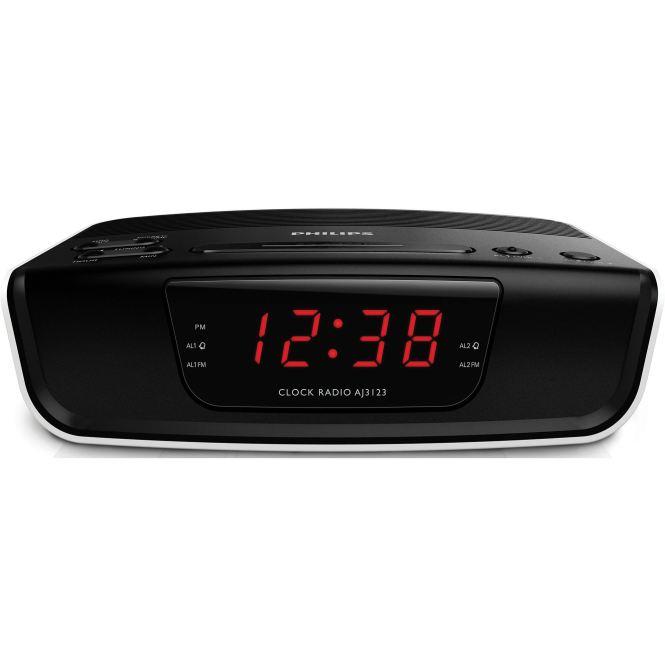 Dual Voltage Worldwide Alarm Clock Radio