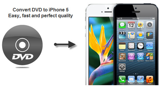 Convert DVD to iPhone 5 for watching without limits!