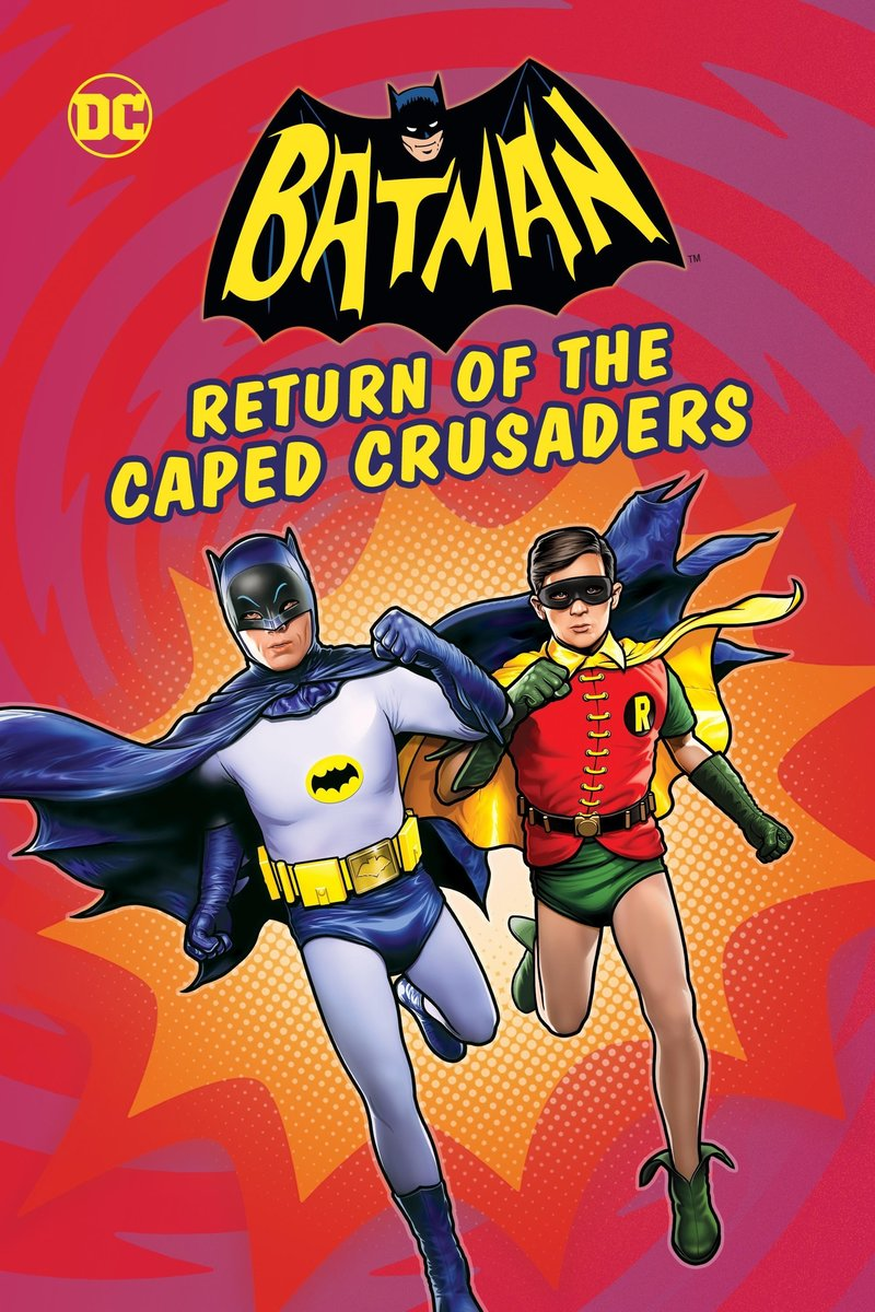 Image result for return of the caped crusaders packshot