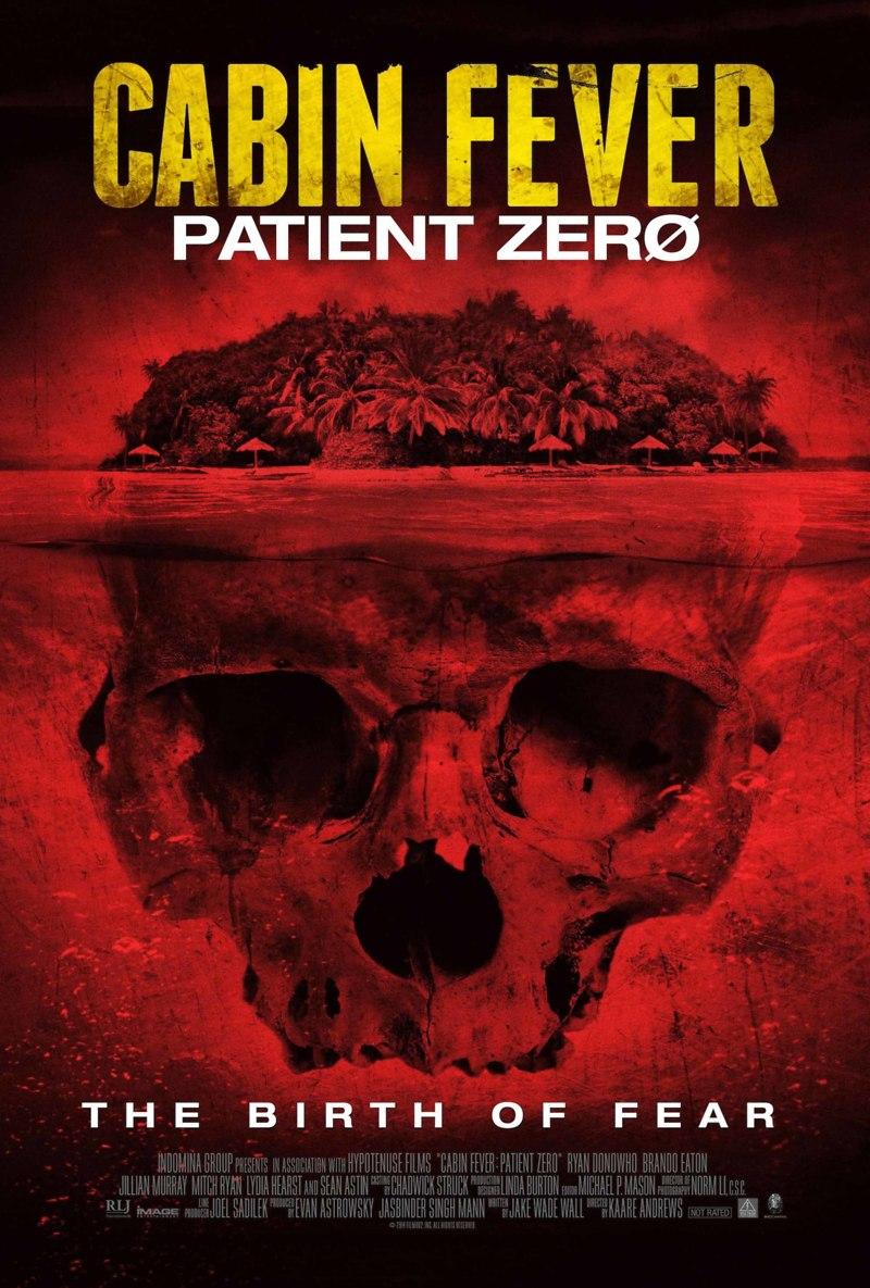 Cabin Fever Patient Zero DVD Release Date September 2 2014
