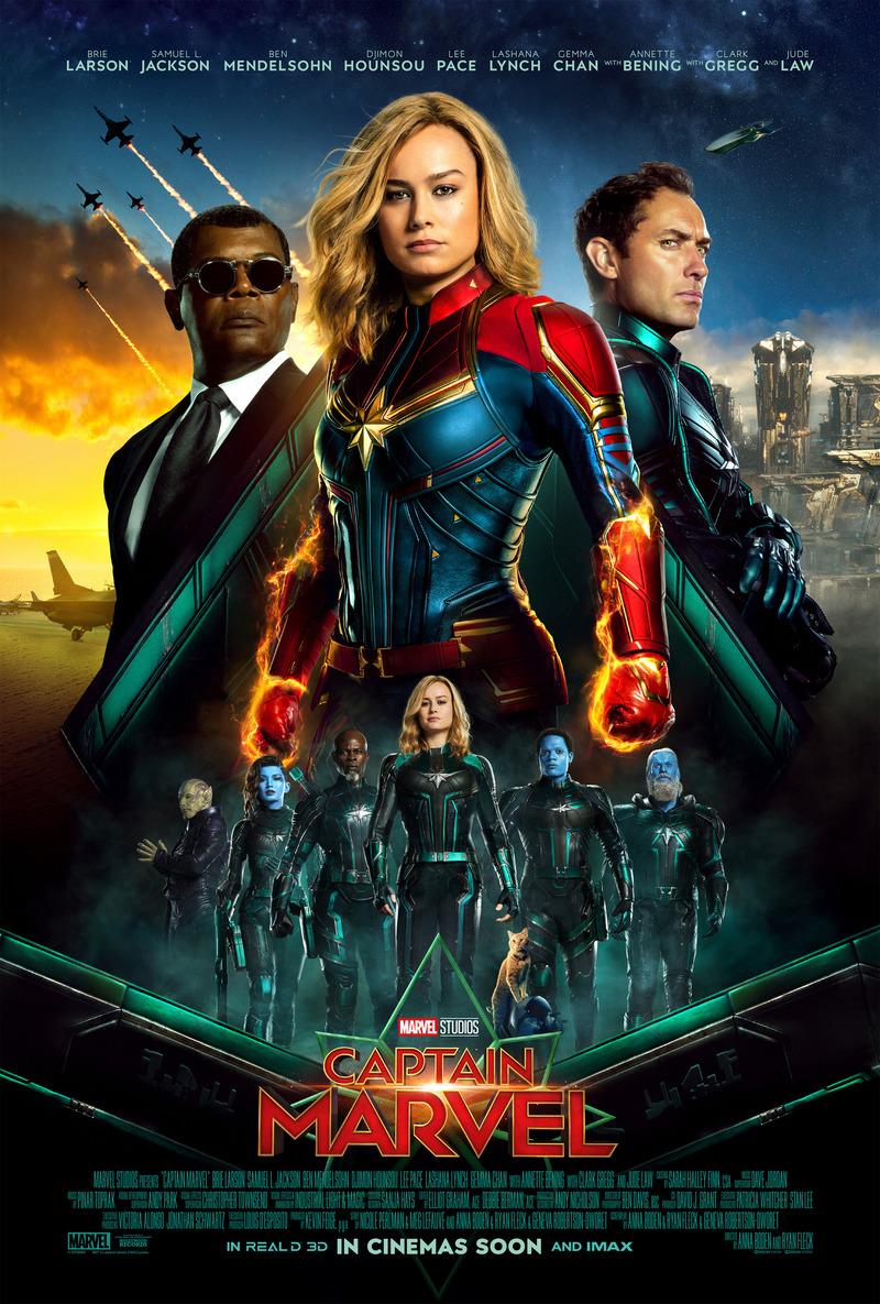 captain marvel dvd release date june 11, 2019