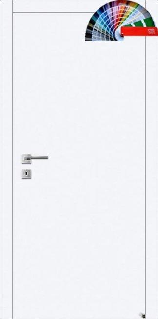 Двери Авангард А1 глухие щитовые белые