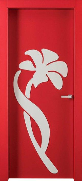 Межкомнатные двери Avangard FL 15 с цветком
