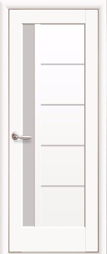 Двери Новый Стиль Грета белый матовый