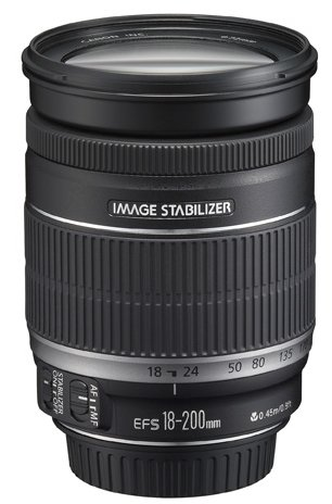 A versatile telephoto zoom - EF-S 18-200mm f/3.5-5.6 IS
