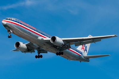 American 767 to Boston