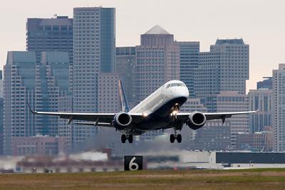 JetBlue Departing Logan