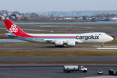 Boeing 747-8F Freighter in Cargolux Colors