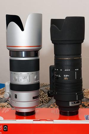 """70-400 G versus Sigma 50-500 """"Bigma"""""""