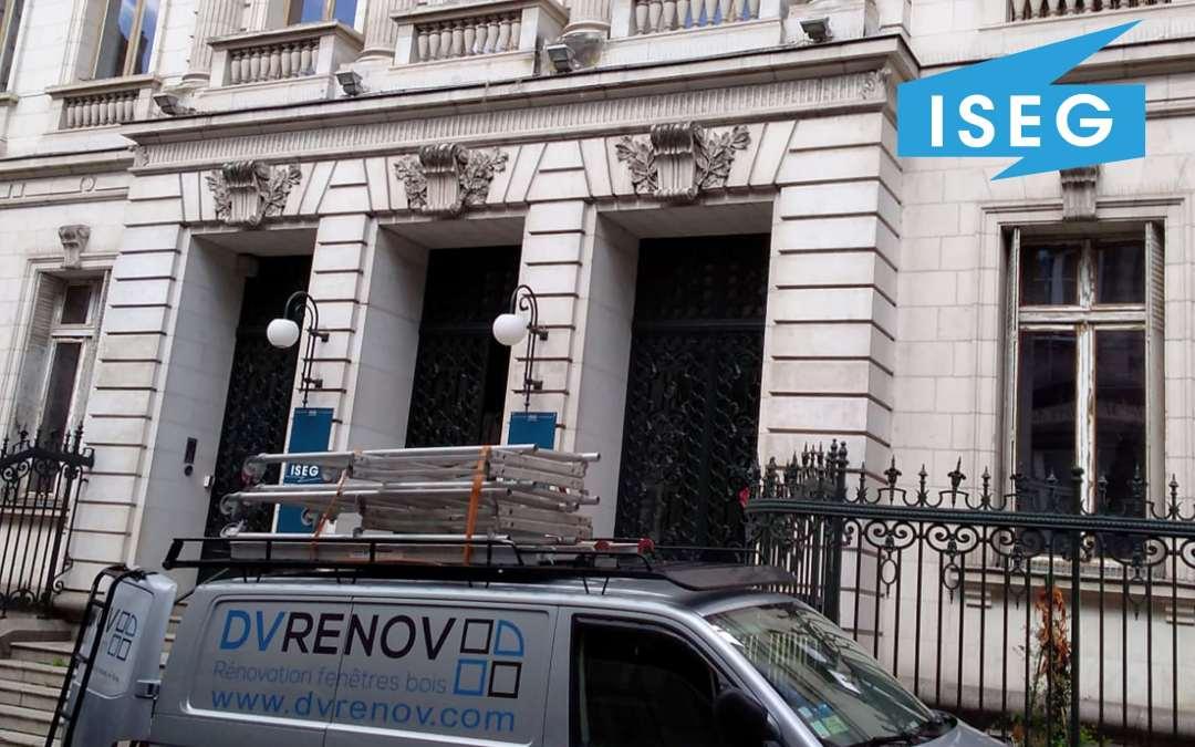 DVRenov Remplacement des fenetres de ISEG Nantes