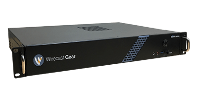 Wirecast Gear Rackmount