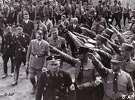 Hitler in Nuremberg on Sept. 2, 1933