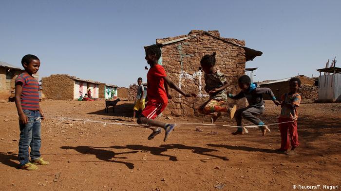 Eritrea Kinder im Flüchtlingslager in der Region Tigrai Äthiopien