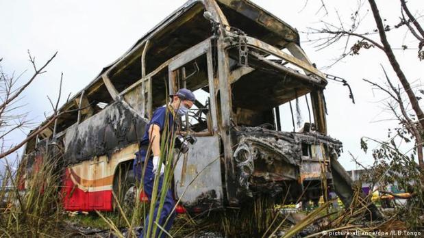 Taiwan: Busunfall