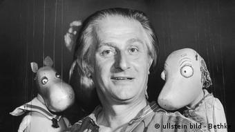 Augsburger Puppenkiste Walter Oehmichen (ullstein bild - Bethke)