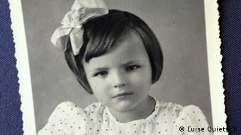 Old photograph of Luise Quietsch as a little girl (Photo: Luise Quietsch) via Monika Griebeler, DW