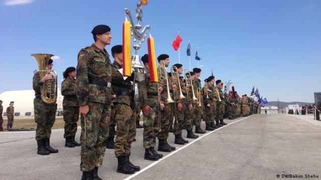 Deutsche KFOR-Soldaten im Kosovo