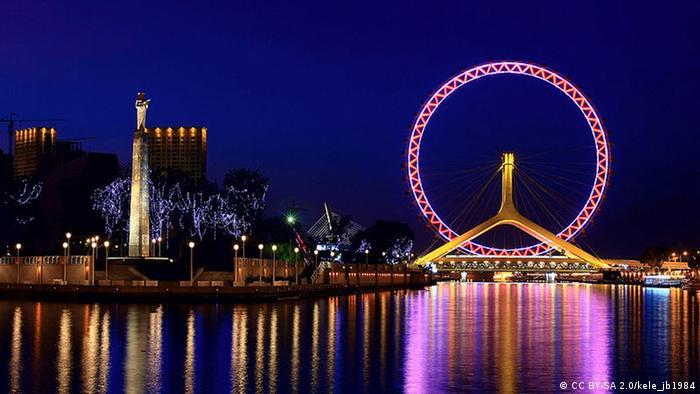 Riesenrad Tianjin Eye in China (CC BY-SA 2.0/kele_jb1984)