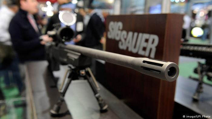 A Sig Sauer high-powered rifle (imago/UPI Photo)