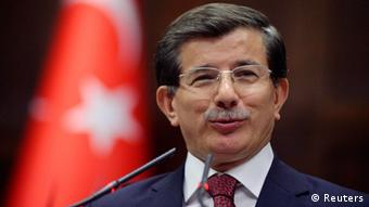 Türkei Ministerpräsident: Ahmet Davutoglu (Reuters)