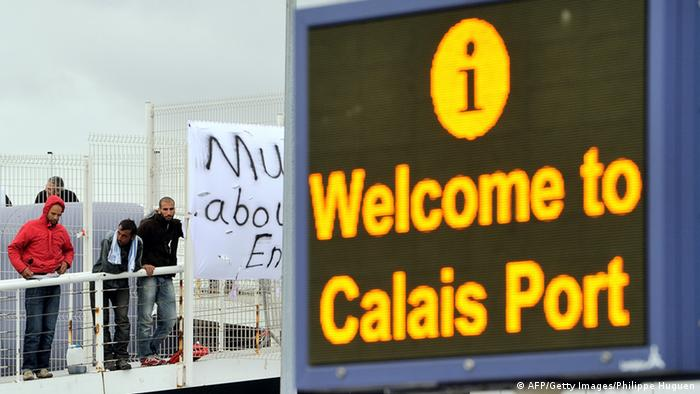 Flüchtlinge in Calais Archiv 2013 (AFP/Getty Images/Philippe Huguen)