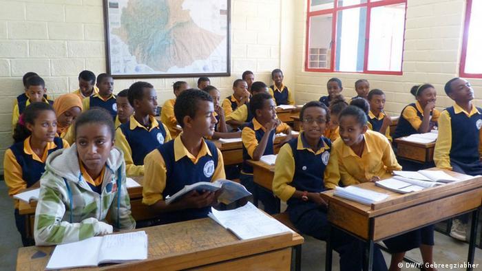 Deutsche Schule in Äthiophien (DW/Y. Gebreegziabher)