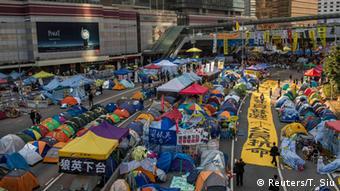 Proteste in Admiralty (Hongkong) (Reuters/T. Siu)