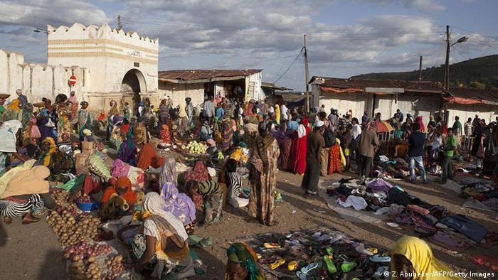 Straßenszene in Harar, Äthiopien (Z. Abubeker/AFP/Getty Images)