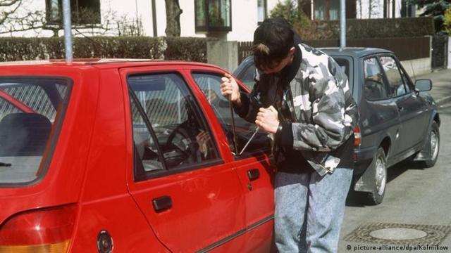 Symbolbild Autodiebstahl