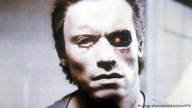 Arnold Schwarzenegger in The Terminator, 1984 (picture-alliance/United Archives/IFTN)