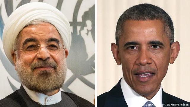 Hassan Rohani und Barack Obama (Bildcombo) (Getty Images / A .. Burton / M. Wilson)