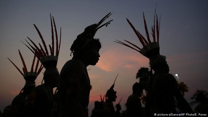 Brasilien 1. Weltspiele der indigenen Völker (picture-alliance/AP Photo/E. Peres)